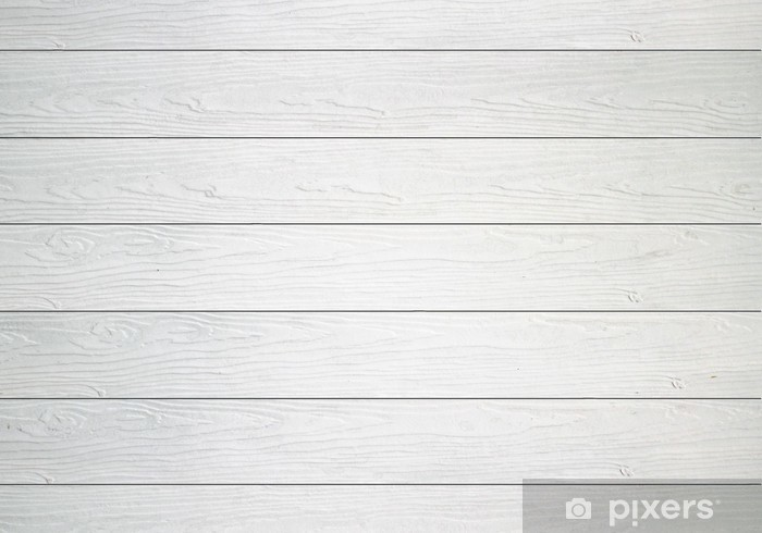 Beau White Wooden Wall Texture Background Wall Mural   Vinyl