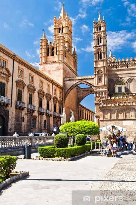 Carta Da Parati A Palermo.Carta Da Parati In Vinile La Cattedrale Di Palermo