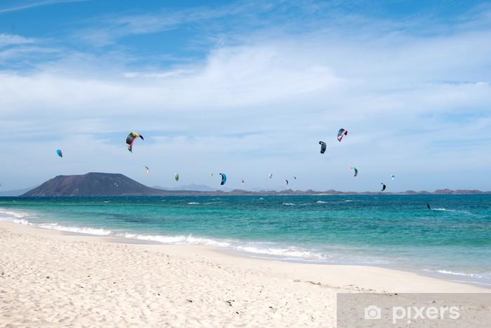 kite surf Pixerstick Sticker - Water Sports