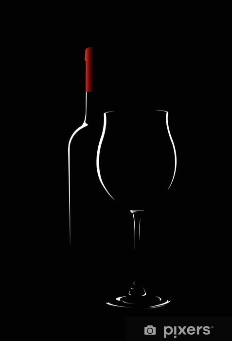 Naklejka Pixerstick Wino - Tematy