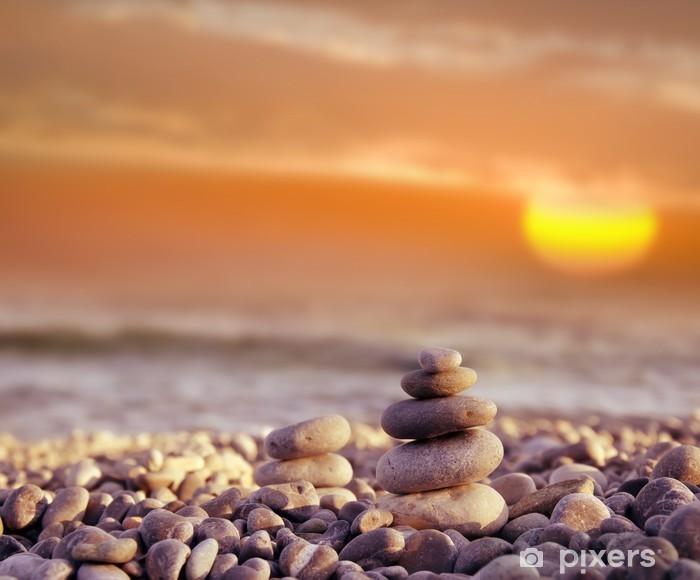 Fototapeta winylowa Kamienie na plaży - Tematy