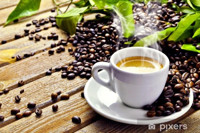 Pixerstick Sticker Warme kop koffie - Thema's