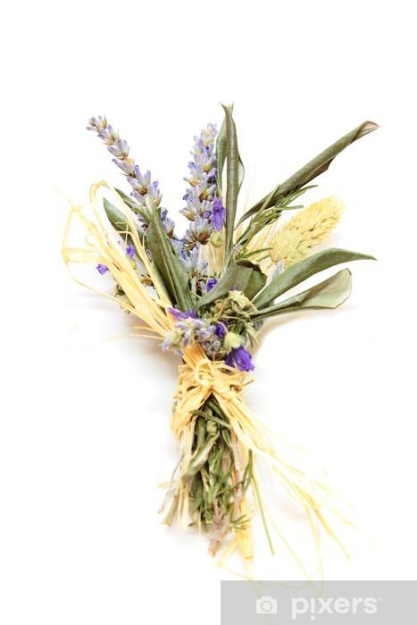 Fiori Secchi.Mazzolino Di Fiori Secchi Bouquet Of Dried Flowers Wall Mural