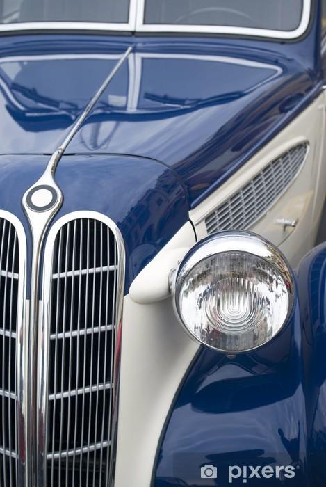Vinil Duvar Resmi Eski model araba -
