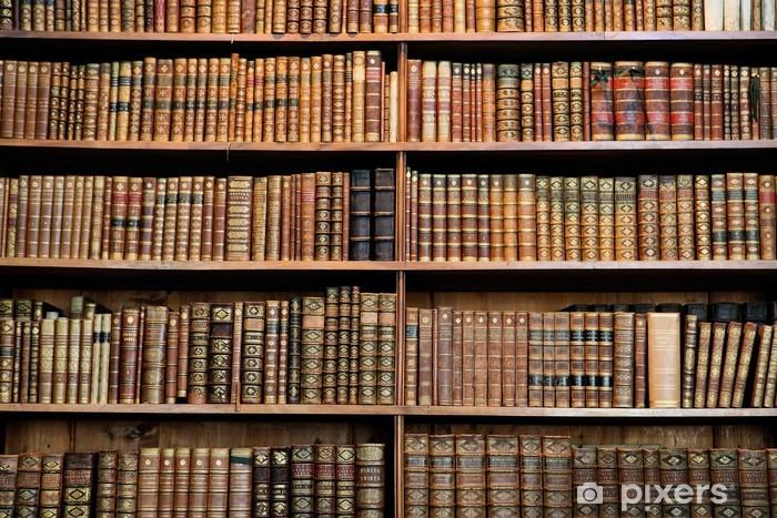 Papier peint vinyle Racks de livres antiques dans une bibliothèque à Vienne - Bibliothèque