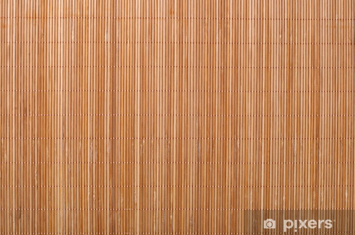 Bamboo Mat Background Wall Mural Vinyl