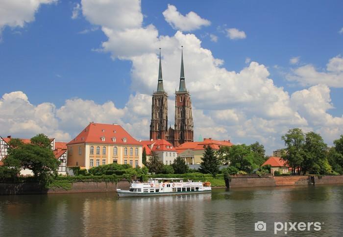 Papier peint vinyle Wrocławska Katedra - Thèmes