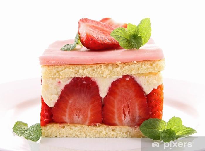 Naklejka Pixerstick Strawberry babki - Posiłki