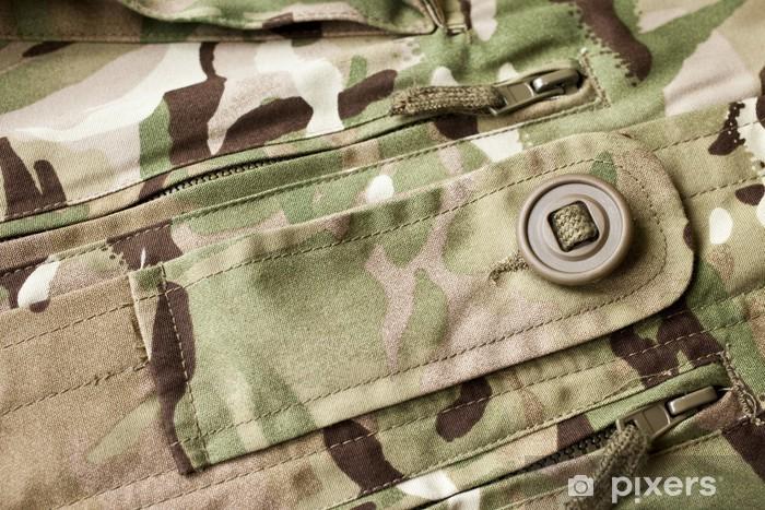 Naklejka Pixerstick Tło wojskowy - Tematy