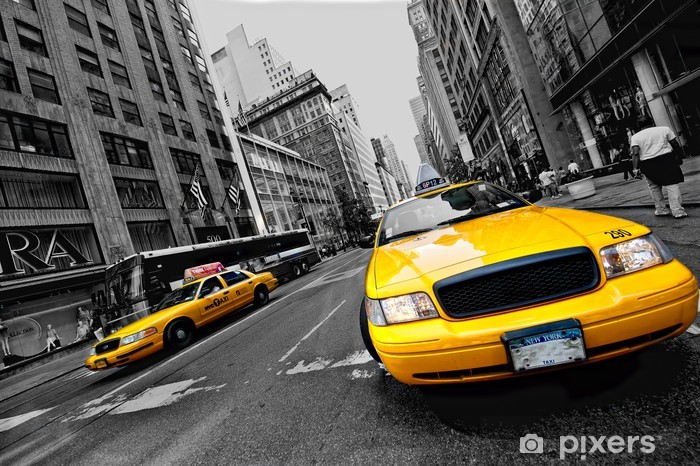 Fotomural Estándar Circulación una nueva york - Temas