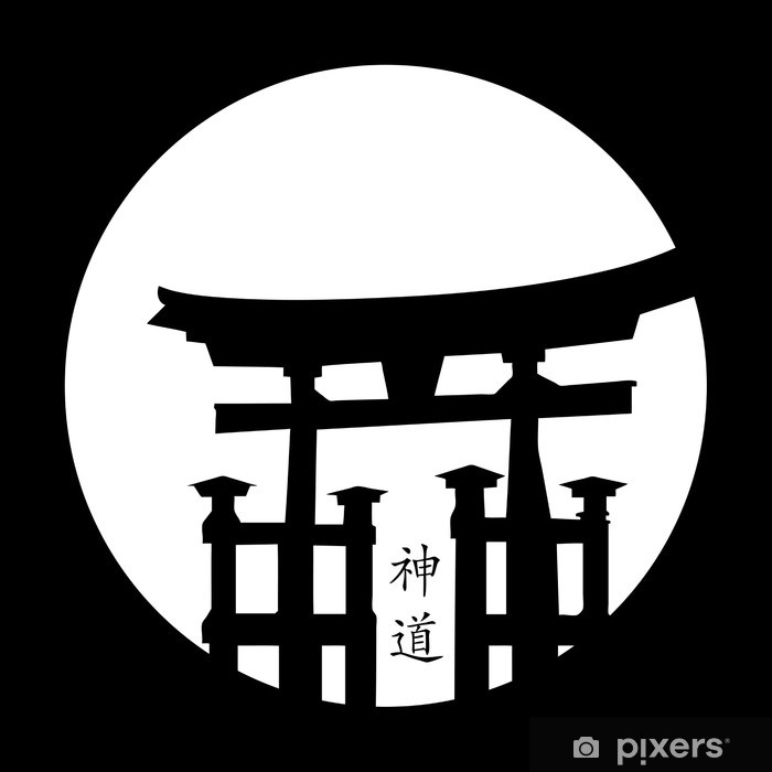 Plakat Japoński styl - Azja