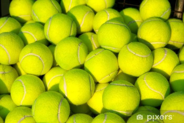 Pile of Tennis Balls Pixerstick Sticker - Tennis