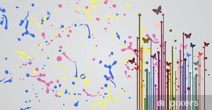 Sticker Pixerstick Surface de couleur d'art - Autres sentiments