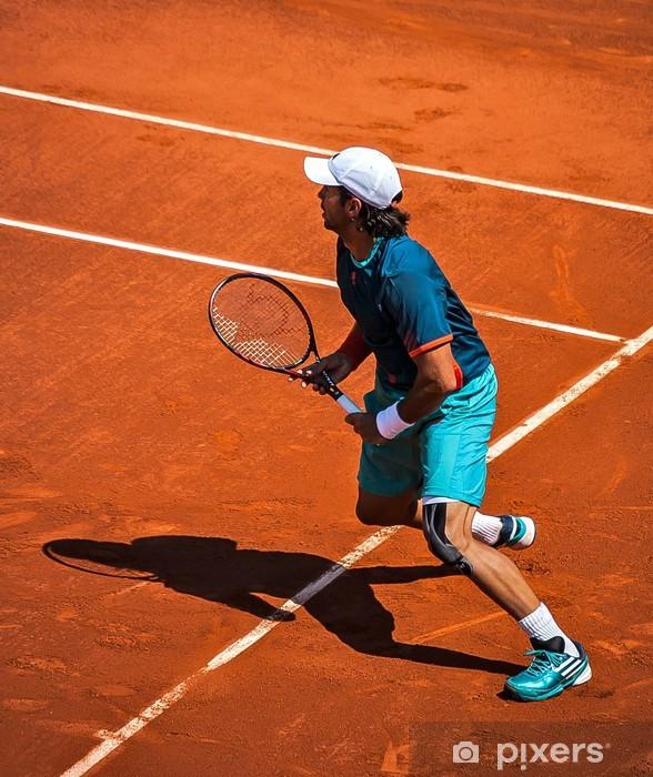 Vinyl Fotobehang Tenniswedstrijd op klei - Thema's