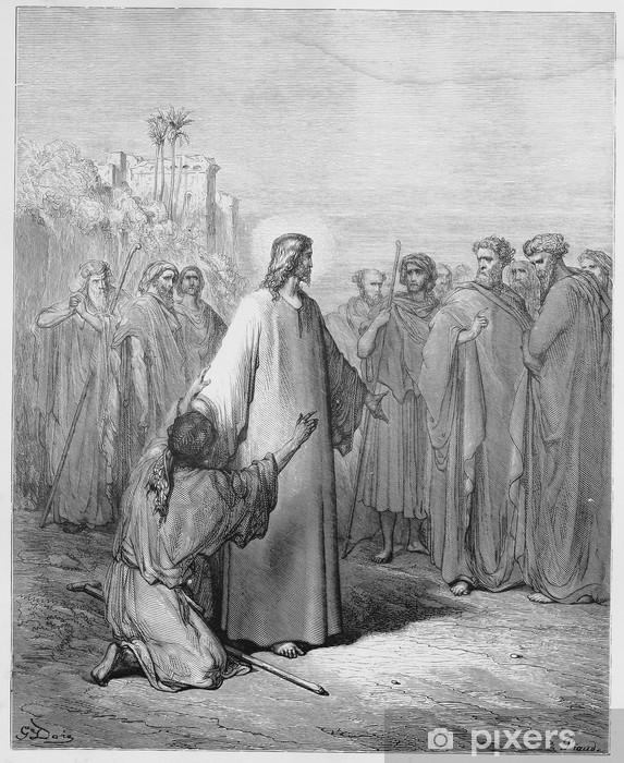 Fotomural Jesús sanó al muchacho endemoniado • Pixers® - Vivimos ...