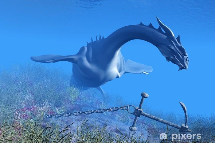 Papier peint vinyle Sea Dragon 01 - Thèmes