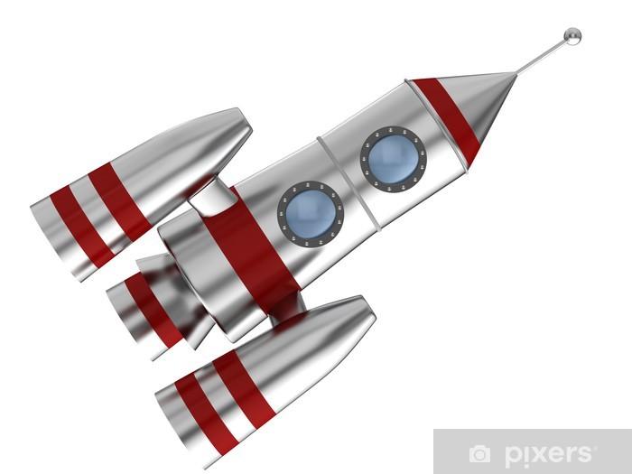 Vinilo Pixerstick Espacio cohete • Pixers® - Vivimos para cambiar