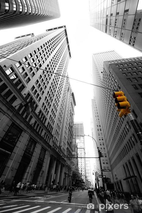 Papier peint vinyle Avenue New Yorkaise -