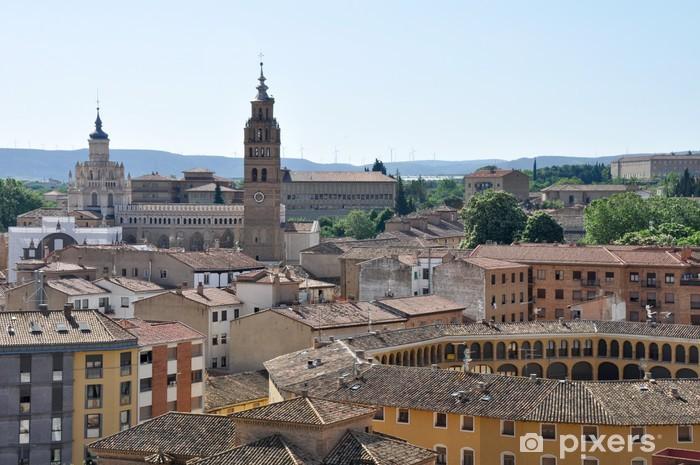 Papier peint vinyle Vue panoramique de Tarazona, Saragosse (Espagne) - Europe