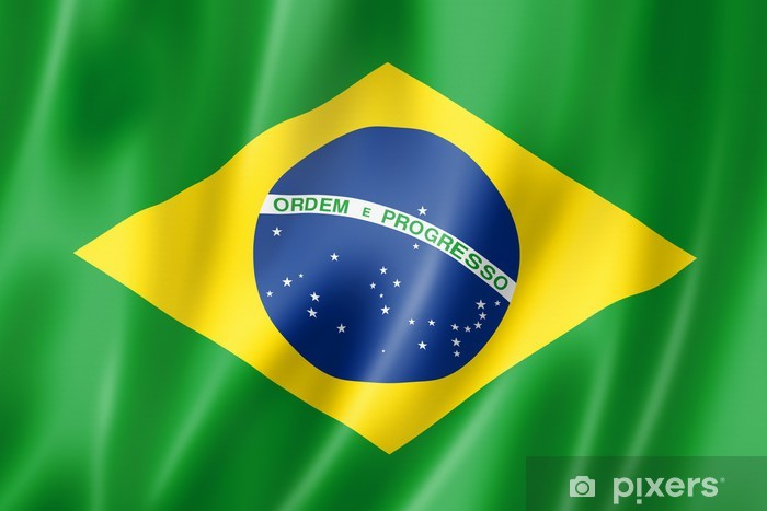 Fototapeta winylowa Brazilian flag - Brazylia