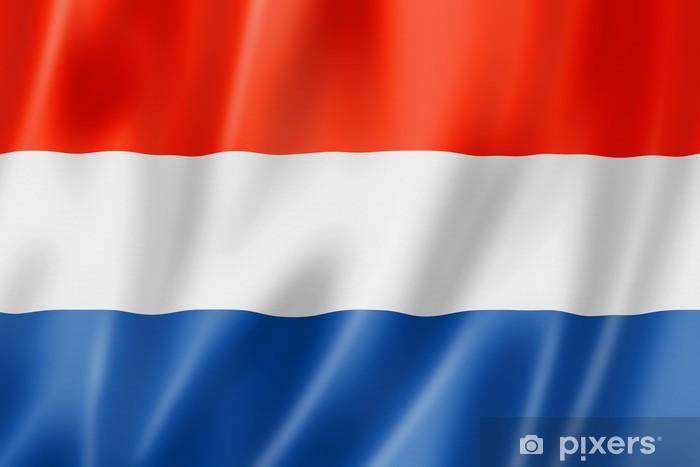 Adesivo Bandiera Olandese Pixers Viviamo Per Il Cambiamento