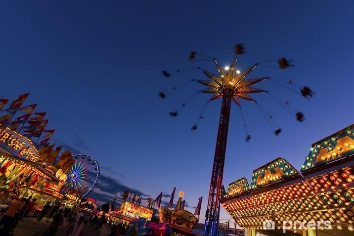 Vinilo Pixerstick Theme park - Felicidad