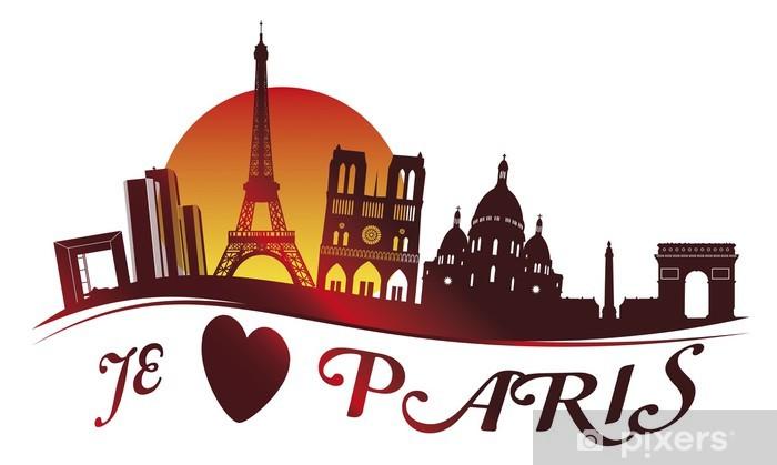 Carta da Parati in Vinile PARIGI Dom - Vacanze