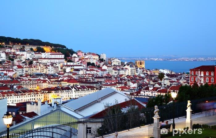 Papier peint vinyle Lisbon - Villes européennes