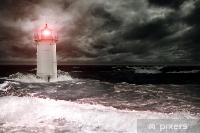 Naklejka Pixerstick Latarnia morska - Latarnia morska