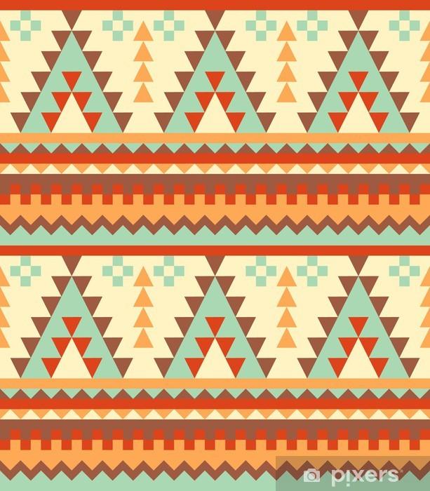 Pixerstick Sticker Naadloze aztec patroon - Stijlen