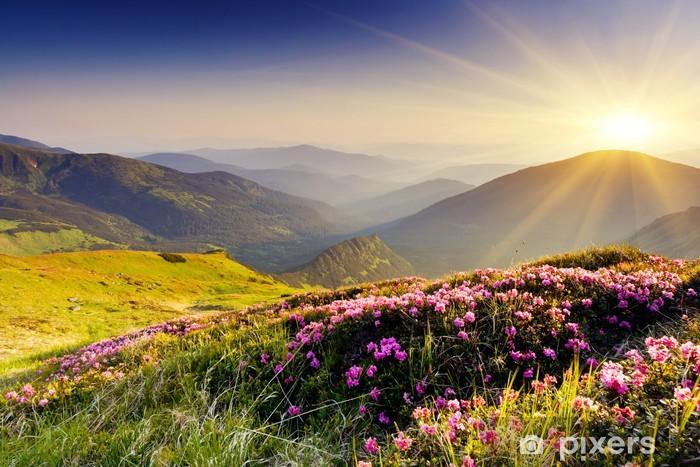 Vinilo Pixerstick Mountain Landscape - Temas