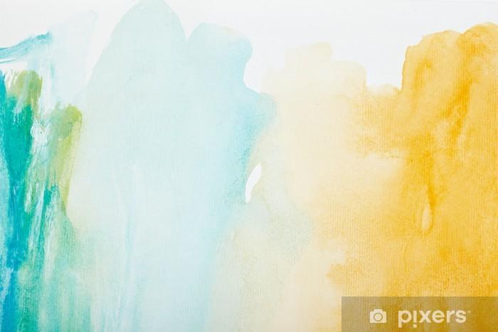 Fotomural Estándar Trazos de color acuarela, arte, pintura - Estilos