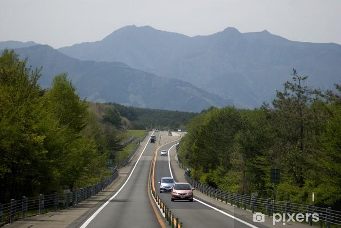 Fototapeta winylowa Droga do mt. fuji, Hakone park narodowy, japonia - Azja