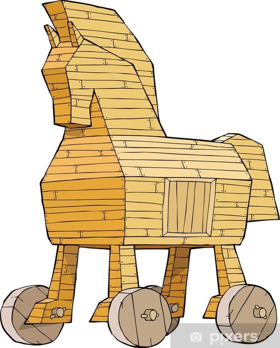 Trojan Horse Sticker Pixers We Live To Change
