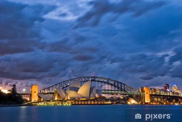 Vinylová fototapeta Sydney Harbour Twilight - Vinylová fototapeta