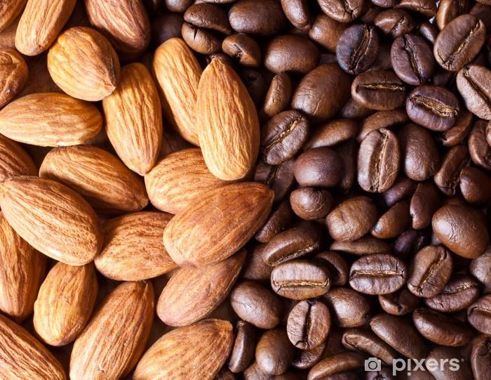 Fototapeta winylowa Kawa z migdałami - Przeznaczenia