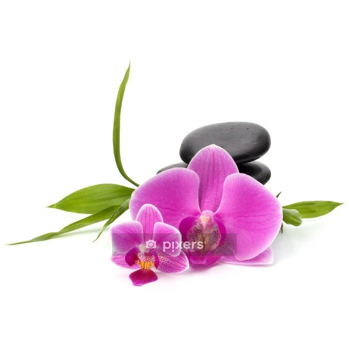 Sticker mural Zen équilibre de cailloux. Spa et le concept de soins de santé. - Sticker mural