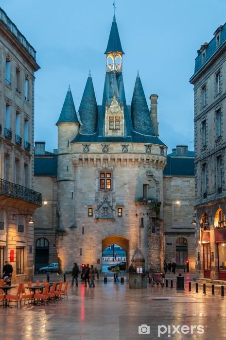 Papier peint vinyle La porte Cailhau à Bordeaux - Vacances