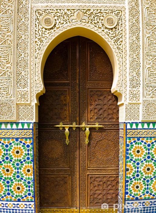 Vinyl Fotobehang Marokkaanse architectuur - Thema's
