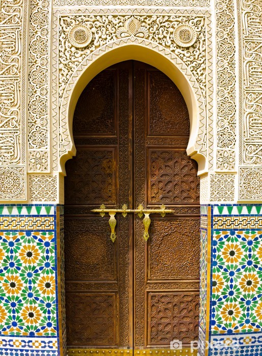 Moroccan architecture Pixerstick Sticker - Themes