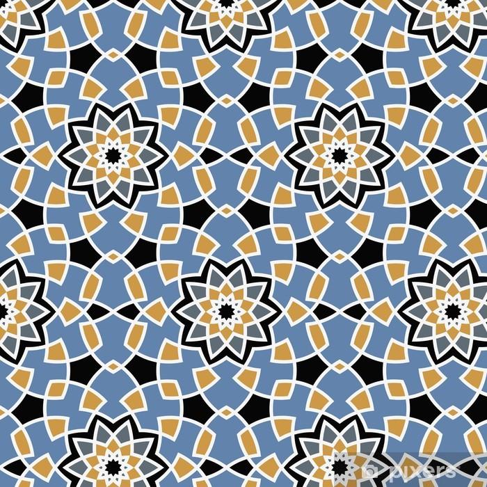 Vinyl-Fototapete Arabesque seamless pattern - Hintergründe