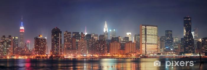 Fototapeta winylowa New York City Manhattan panorama - Tematy