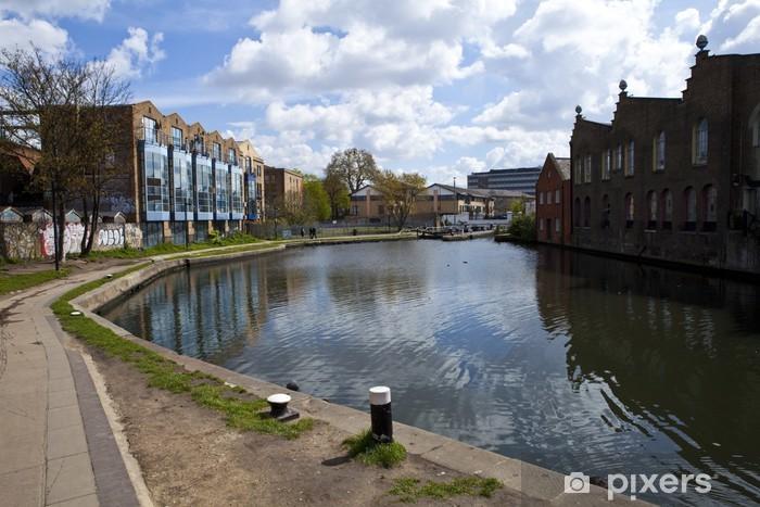 Papier peint vinyle Le remorquage chemin le long du Canal Regents - Villes européennes