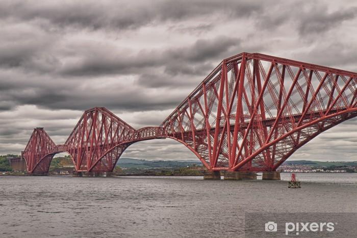 Fototapeta winylowa Firth of Forth Bridge, Szkocja, Wielka Brytania - Tematy