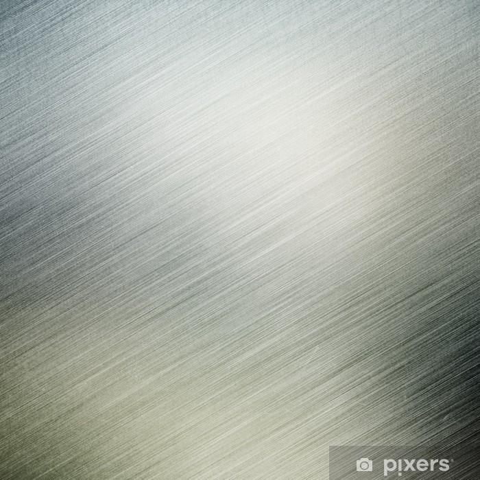 Naklejka Pixerstick Szczotkowanego metalu tle - Style