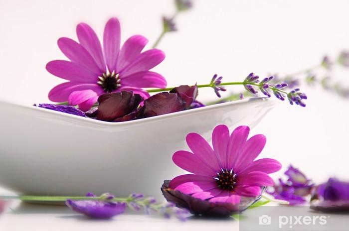 Nálepka Pixerstick Rêves de bien-être - Květiny