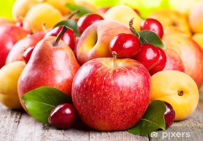 Naklejka Pixerstick Owoce i jagody - Posiłki