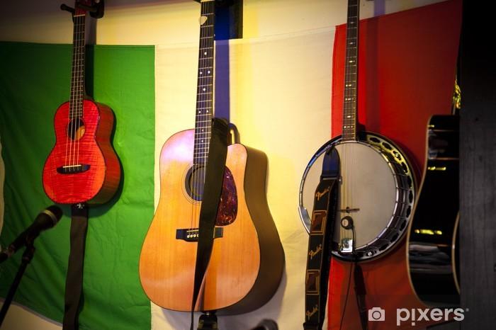 Fototapeta winylowa Irish Folk - Muzyka
