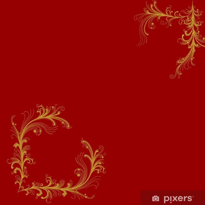 Carta da parati bordeaux rosso sfondo o angoli decorativi for Parati decorativi