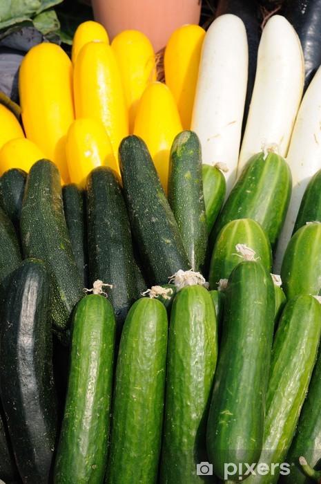 Pixerstick Aufkleber Gurke und Zucchini - Themen